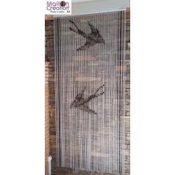 rideau de porte en aluminium