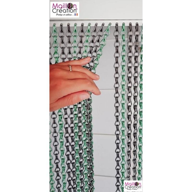 rideaux cérétans en chaine aluminium