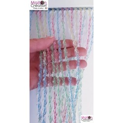 rideau de porte en lanière plastique