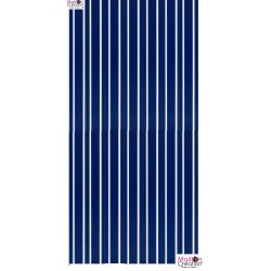 curtain plastic lamella blue