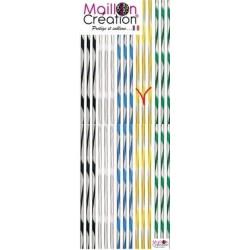 Rideau plastique 5 coloris au choix