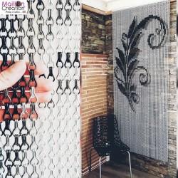 rideau de porte design