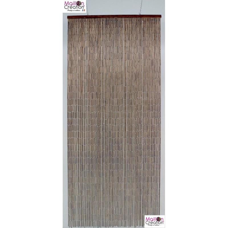 Mahogany BAMBOO curtain Morel - 1