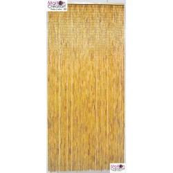 rideau de porte en bambou naturel