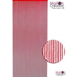Red BAMBOO curtain