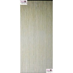 rideau de porte en bambou kaki