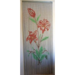 "Door curtain ""Amaryllis"""