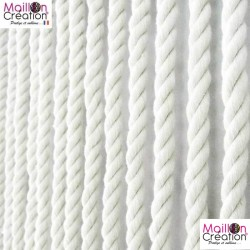 Cotton rope curtain Morel - 1