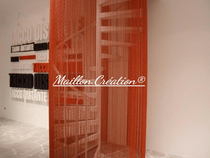 rideau-chainette-rouge