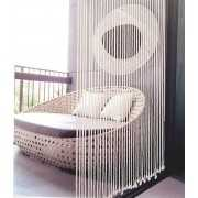 Warm room divider curtain