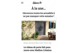 "The ""deco.fr"" site talks about us!"